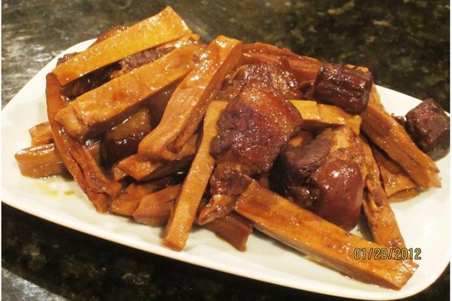 上海传统年菜…水笋烧肉; 南京传统年菜…什锦菜 zt - Jennifer - 雨夜相思客