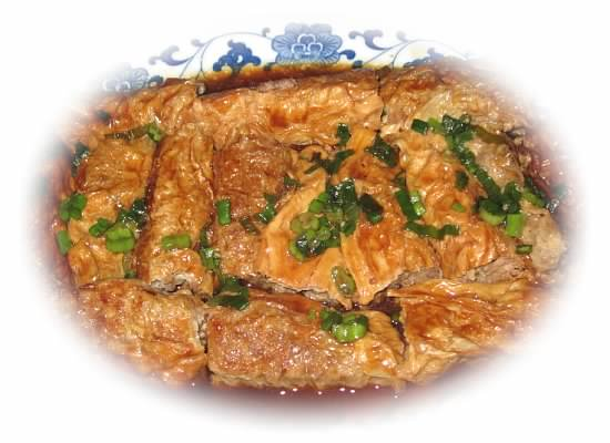 上海弄堂里的美味-豆腐衣包肉 zt - Jennifer - 雨夜相思客