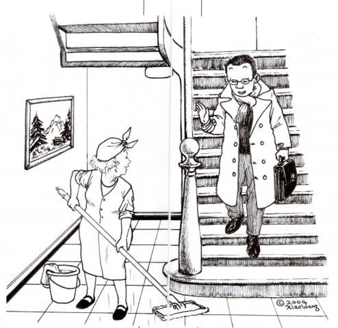 西餐厅手绘效果图马克笔