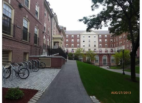 到了布朗他被分在一个高年级大学生的宿舍里体验生活,那个宿舍楼又旧图片