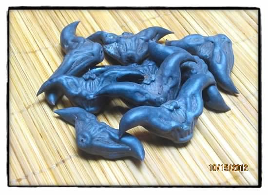 蓝色菱角元素素材