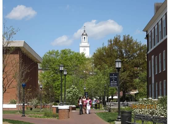 春假走访三所大学之三 约翰霍普金斯大学 zt - Jennifer - 雨夜相思客