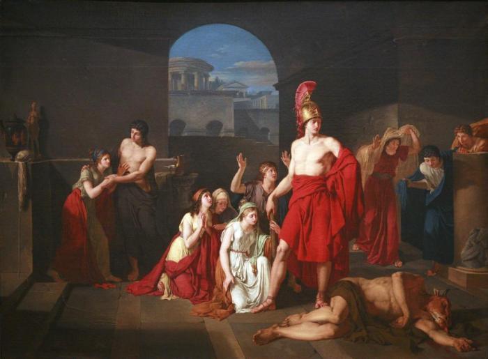 和一叶 希腊神话英雄忒修斯图片